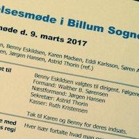 Referater fra Billum Sogneforening og borgermøder