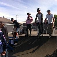 Nye ramper til Skaterbanen ved Ungdomshuset