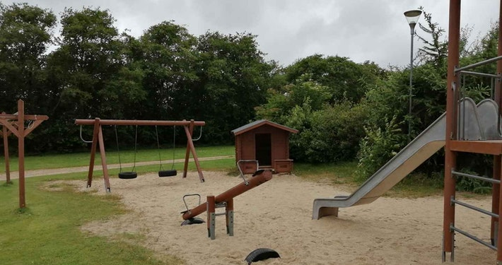 Campingpladsens legeplads